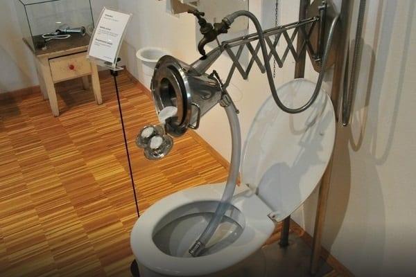 WC special pentru bărbați