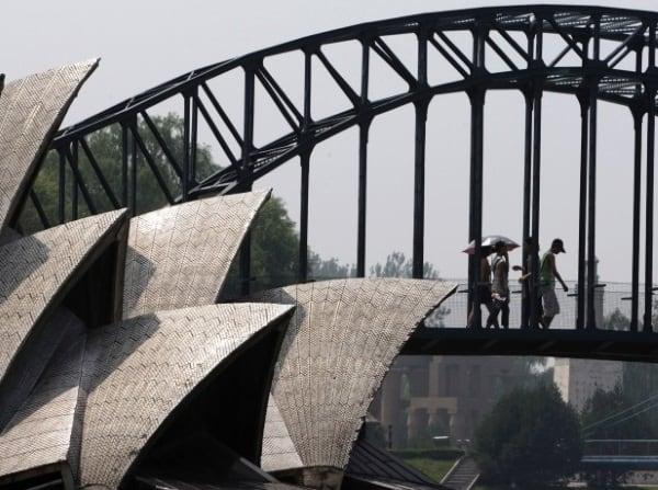 Imitații ale unor construcții celebre - Imitații din Australia