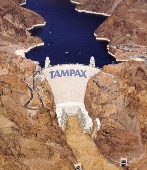 Postere publicitare - Tampax