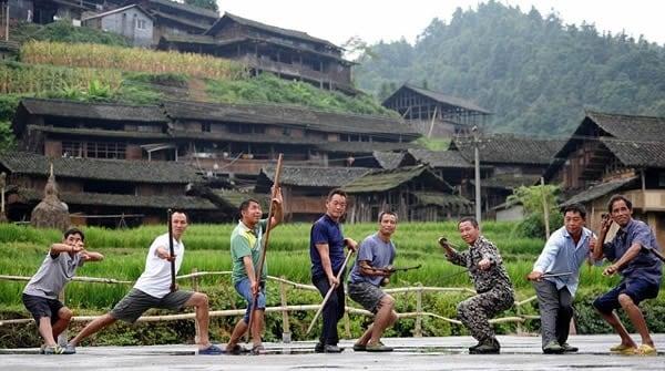 Sate unice - Satul Kung-Fu