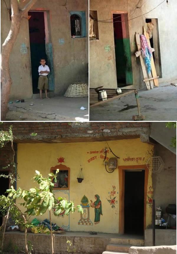 Sate unice - Satul fără uși