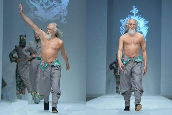 Modele ieșite din comun - Cel mai bătrân model masculin