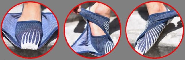 Pantofii Furoshiki 1