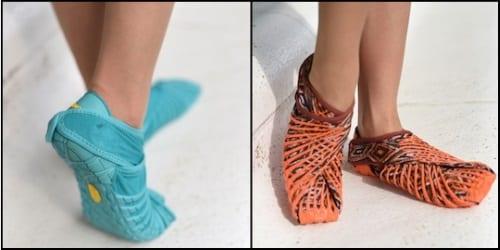 Pantofii Furoshiki 2