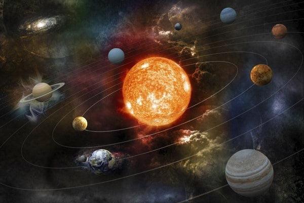 Cultură generală - sistemul solar