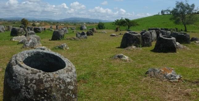 Vase din piatră