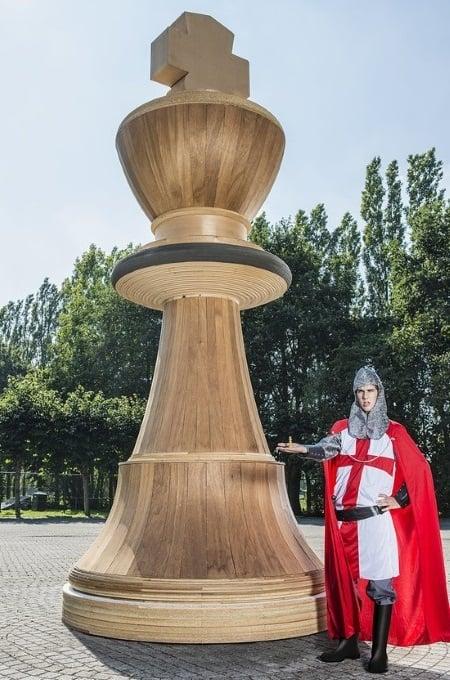 Cea mai mare piesă de șah