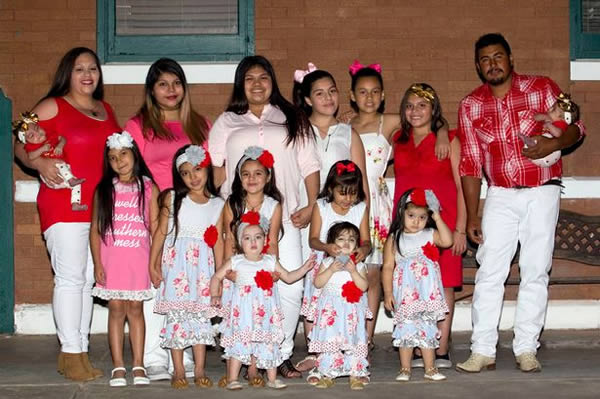 Familie cu foarte mulți copii - 14