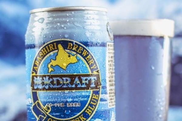 Băuturi neobișnuite - bere albastră